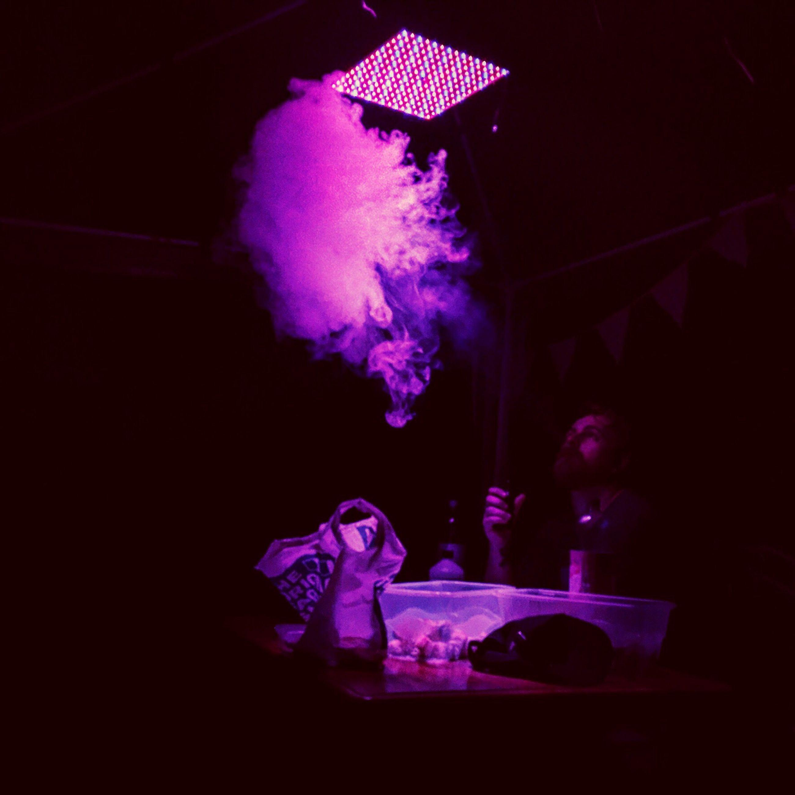 indoors, close-up, pink color, night, dark, electric light, darkroom, freshness