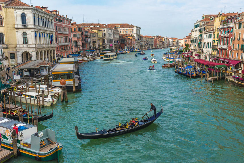 Alberto So City Cultures Day Gondola - Traditional Boat Gondolier Nautical Vessel Outdoors People Sky Tourism Transportation Travel Travel Destinations Vacations Water
