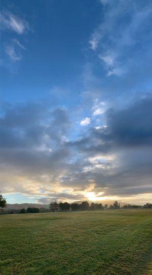 Morning sky Lake Elizabeth Fremont Sunrise Cloud - Sky Sky Tranquility