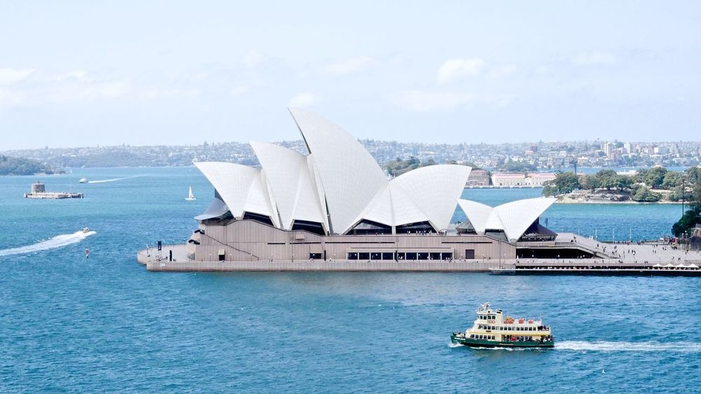This is Sydney. By Panasonic GH85. Australia Sydney Opera House Sydney Harbour  Sydney, Australia Architecture Building Exterior Built Structure City Cityscape Day Harbor Mode Of Transport Nature Nautical Vessel No People Outdoors Sea Sky Transportation Wake - Water Water Waterfront