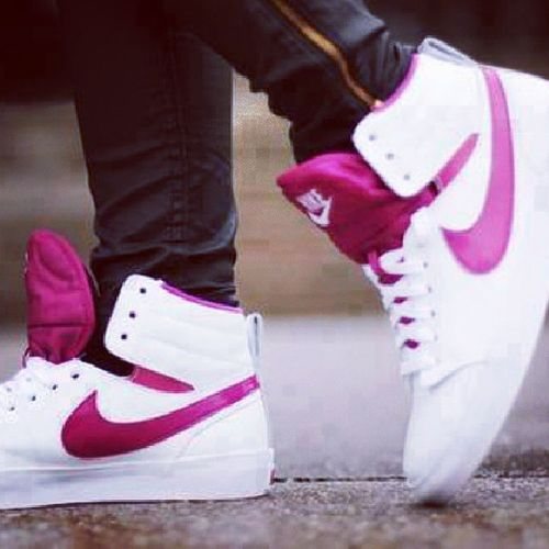 AWayToRemember :') Pinkandwhite Shoes Love