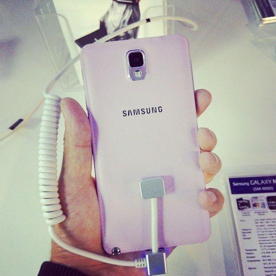 Презентация Samsung Galaxynote3 и Galaxygear