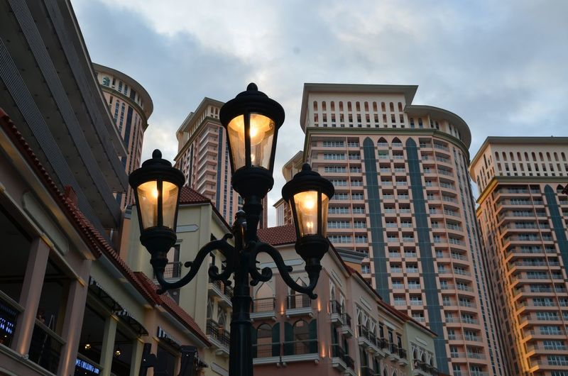 Lighting Equipment Architecture Low Angle View Building Exterior Street Light Vintage Vintage Lamp Vintage Lamp Post Lamp Post Built Structure City Sky No People Outdoors Day First Eyeem Photo