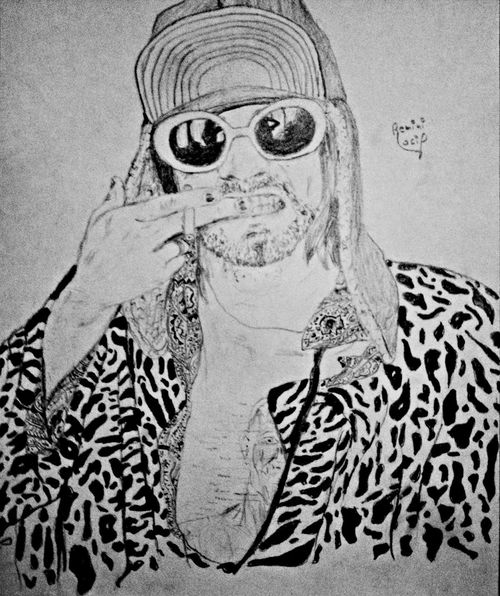The Man who sold the world My Art Draw Drawing ArtWork