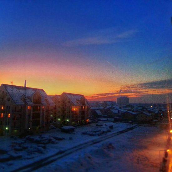 Frozen sunset Eye4photography  Hdr_Collection Love Sunporn Citylife Sunset Colors EyeEm Best Shots Cityscape Winter
