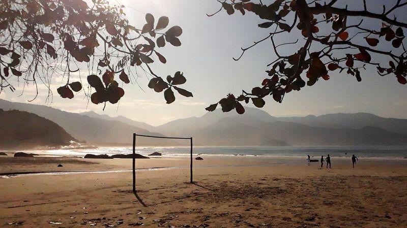 Aventureiro Beach Rio De Janeiro Brasil J7primephotography Mar Sol Water Tree Sea Beach Mountain Sand Sky Goal Post Soccer Goal EyeEmNewHere