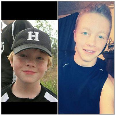 Transformation from my chubby cheek ginger days. ?? TransformationTuesday Awkwarddayzzz Like Freshmannow
