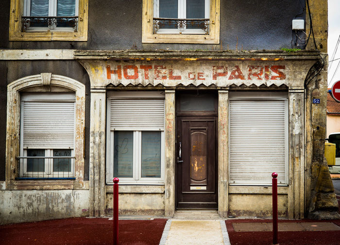 Hotel de Paris No People Closed Abandoned Weathered Run-down Deterioration France Hotel De Paris The Week on EyeEm Residential District Not In Use Not In Use Anymore Rundown House Forgotten Places  No Infrastructure Neglected Out Of Use  Hotel Old Better Days Better Past Glorious Days
