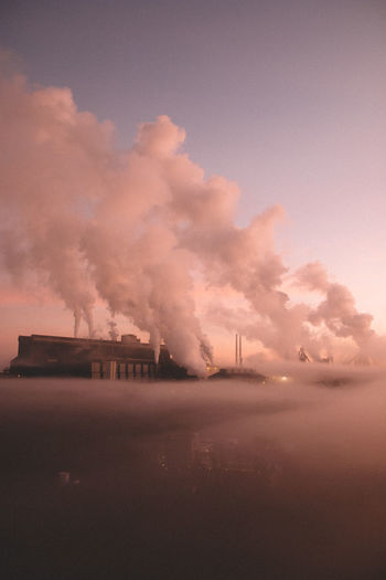 who knew that pollution could look so magical... i found the Cloud Factory Pollution Health Unhealthy Above The Clouds Factory Environment Environmental Conservation Environmental Issues Environment Travel Destinations Urban Outdoors Pink Color Sky On Fire Architecture Sunset Damaged Factory Building City Cloud - Sky Futuristic Sky No People Sunset Built Structure Outdoors Smoke Stack Water Power In Nature Architecture The Great Outdoors - 2018 EyeEm Awards The Architect - 2018 EyeEm Awards The Creative - 2018 EyeEm Awards The Photojournalist - 2018 EyeEm Awards Humanity Meets Technology 17.62°