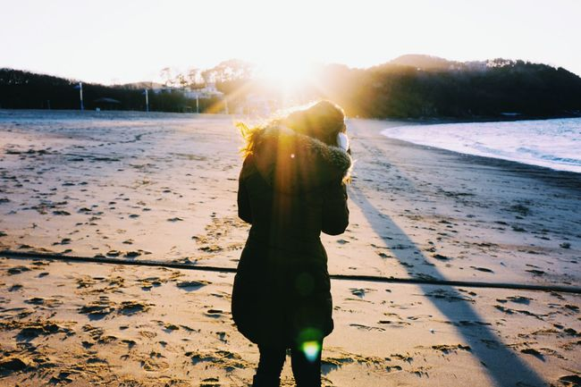 Winter Beach Contax G28 Showcase: November