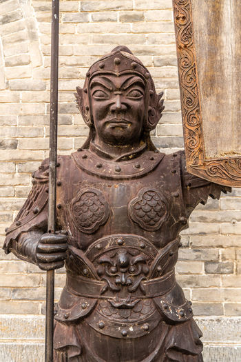 Yanmen pass Great Wall gate, Shanxi Province, China Ancient Ancient Buildings Ancient Times Before Building China Defense Dimensions Gate Landmark Metal Old Outdoors People Sculpture Shanxi Province Statue The Great Wall Tradition Yanmenguan Yanmenzha Art And Craft Representation Architecture Creativity Human Representation Craft Built Structure Carving - Craft Product Male Likeness The Past History Day No People Travel Destinations Close-up Building Exterior Tourism Brick Carving Ancient Civilization Ornate