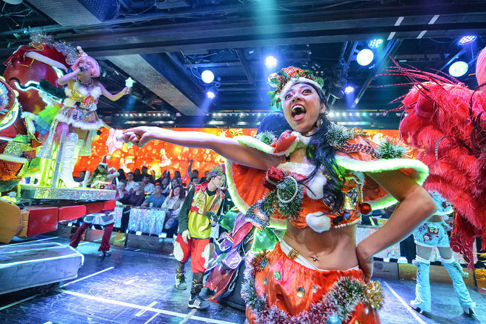 performance at the robot restaurant Adult Adults Only Audience Celebration Colourful Crowd Dance Dancing Indoors  Indoors  Kabukicho Multi Colored Music Neon Lights Night People Performance Performer  Performing Arts Event Robot Restaurant Young Adult