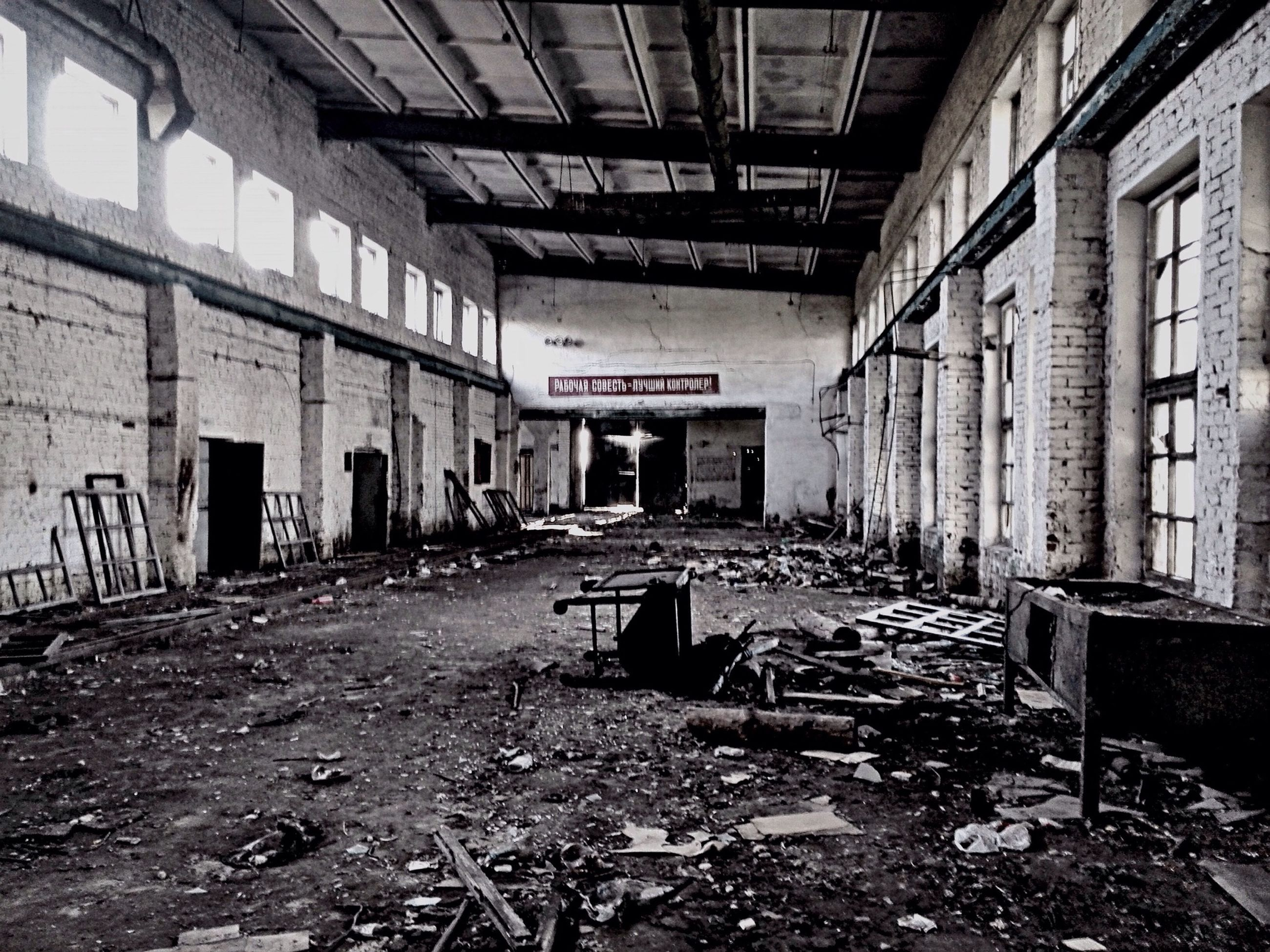 abandoned, architecture, obsolete, built structure, damaged, graffiti, deterioration, run-down, old, indoors, messy, interior, bad condition, wall - building feature, building, building exterior, weathered, dirty, empty, absence