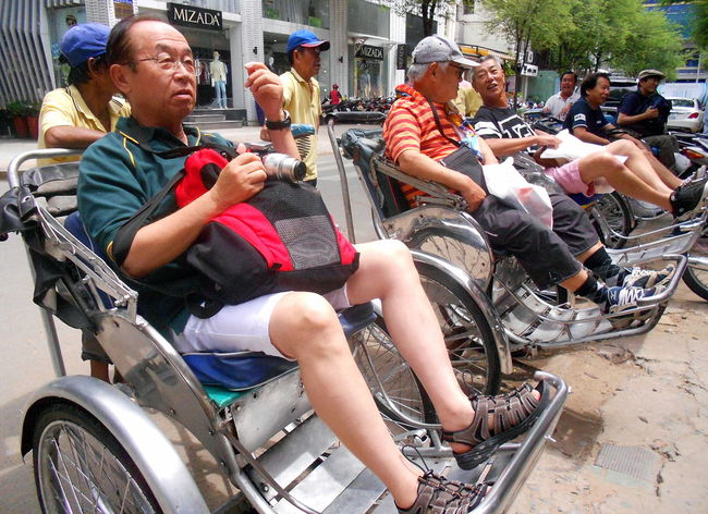 Day Ho Chi Minh City Land Vehicle Large Group Of People Lifestyles Men Mode Of Transport Outdoors Real People Sitting Technology Transportation Vietnam Travel Wheels