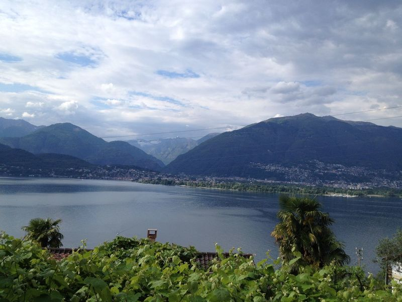 Nature On Your Doorstep From the garden, looking to the Lago Maggiore Switzerland