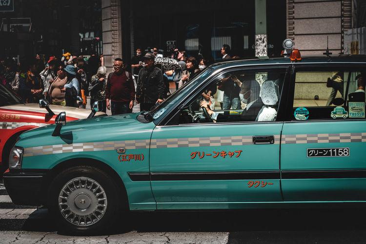 Taxi Driver. -