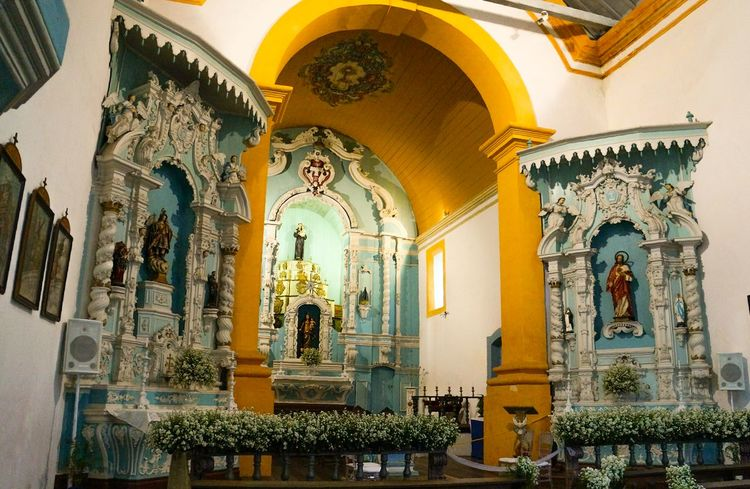 Igreja. Church. Indoors  Religion Paint The Town Yellow Church Architecture Brasil ♥ Florianópolis Sul South Con6
