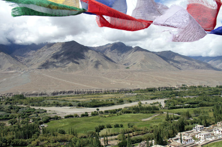 Indo river and Leh valley , 3500 mt slm -Ladakh India Beauty In Nature Cloud - Sky Day Environment Eye4photography  Eyeemlandscape Eyeemmountains Eyeemtopshots Eyem Gallery Flag Green Color Hanging Indiatravelgram Indiatraveller Ladakh A View From The Top Ladakh Landscape Ladakhdiaries Ladakhtourism Land Landscape Mountain Mountain Range Nature No People Non-urban Scene Outdoors Plant Scenics - Nature Sky Tranquil Scene Tranquility