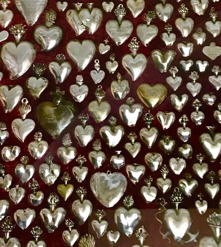 Oh, mon cœur Exvoto Devotion Coeur  Large Group Of Objects Large Group Of Objects Close-up Repetition Jewelry Shiny Large Group Of Objects Large Group Of Objects Close-up Repetition Jewelry Shiny