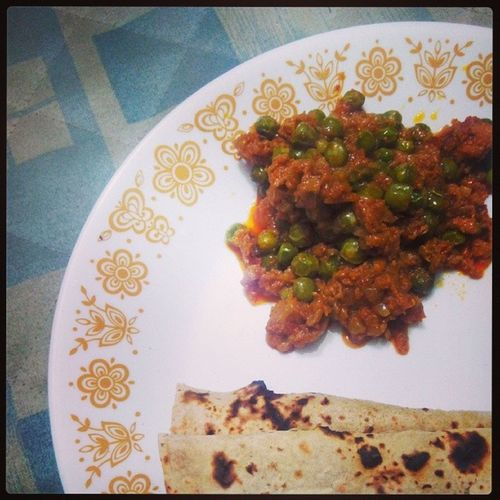 Kheema. Chicken Kheema Chappati Motherscooking foodporn instayum delicious ilove instafood instapic instalike 100happydays food nonveg homemade