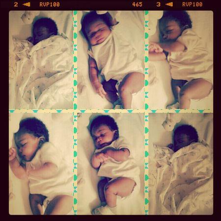 Loving baby boy
