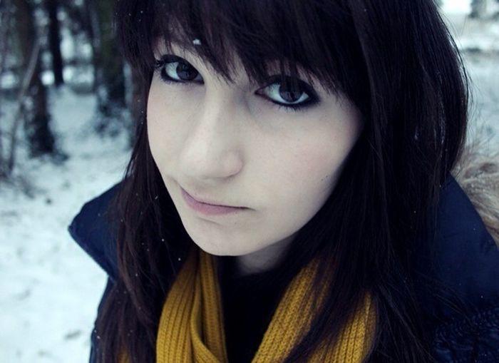 Winter Selfie Germany Snow