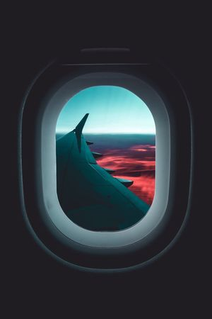 Airplane Transportation Vehicle Interior Window Mode Of Transport Flying Journey Travel Air Vehicle Looking Through Window Indoors  Public Transportation Sky No People Airplane Wing Close-up Nature Day Airplane Seat