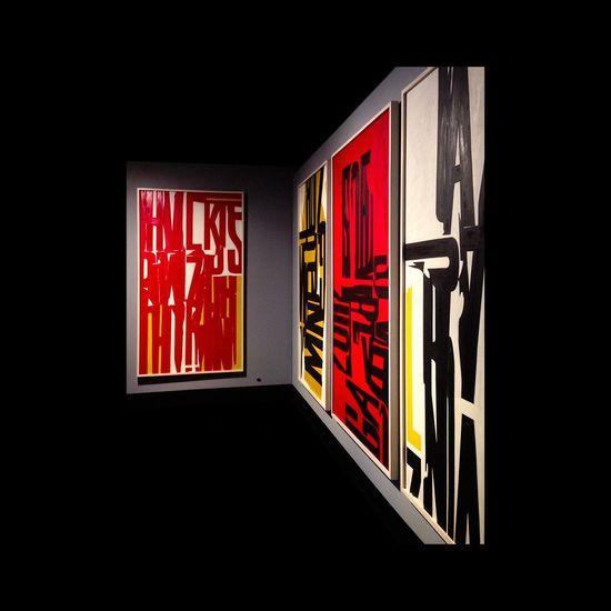 Williamklein Exhibition Big Letters