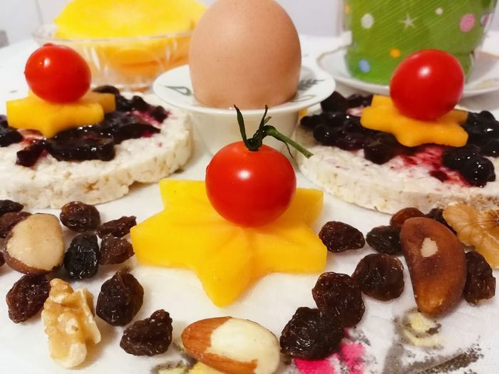 Breakfast Waffel Healthy Lifestyle Foodstyling Premium Foodphotography Creative Light and Shadow #creative Design Premium Collection Egg Yolk Fruit Dessert Candy Egg Cherry Apricot Close-up Sweet Food Food And Drink EyeEmNewHere Holiday Moments