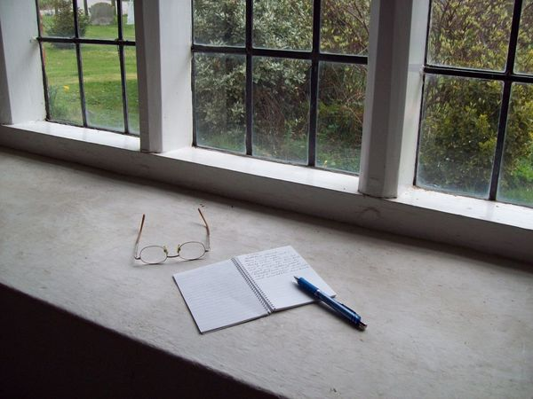 Absence Book Empty Growth Lonely No People Pen Specticals Tranquil Tranquil Scene Tranquility Tranquillity Window View