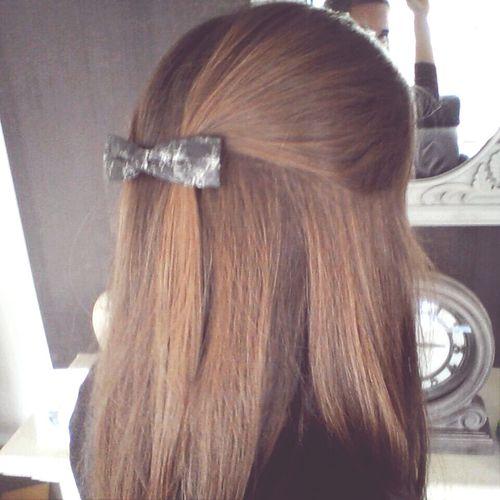 my hair Beautiful Hair Long Hair Hairbow