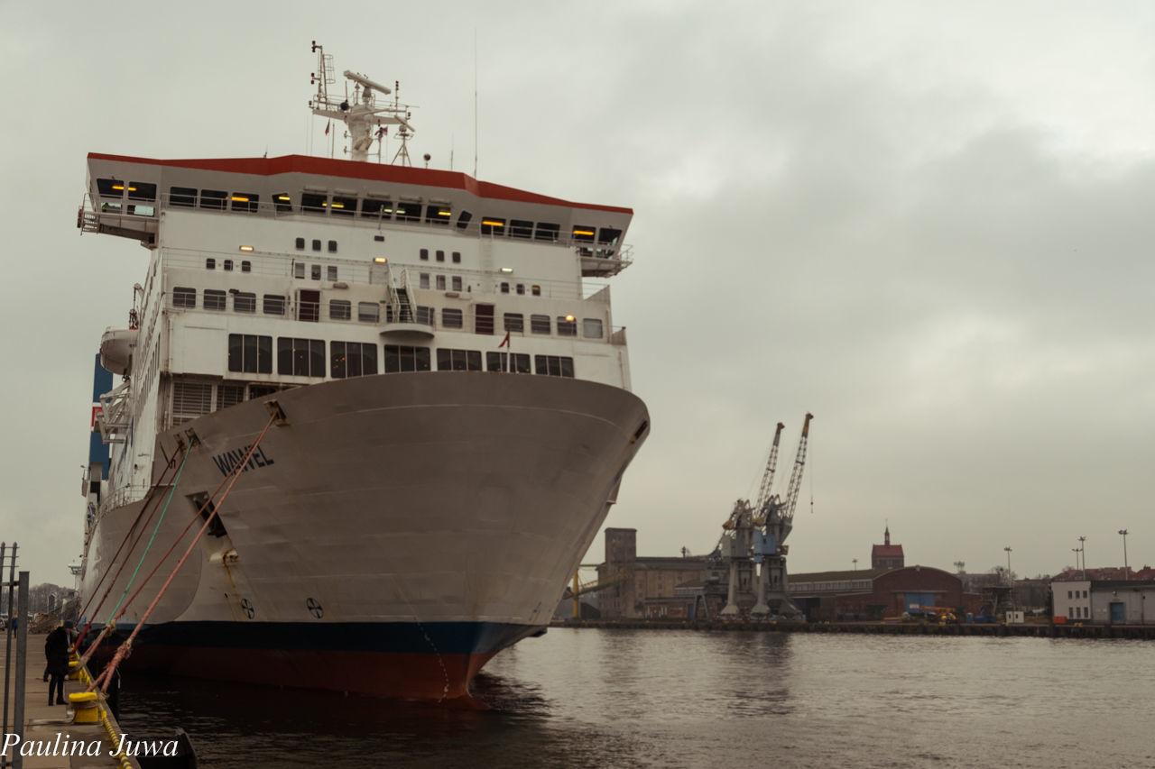 VIEW OF SHIP AT HARBOR
