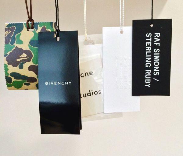 Brand Tags Bape_jp Givenchy AcneStudios  Maisonmartinmargiela RafSimons