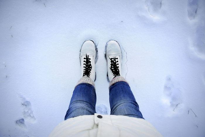 Winter walk Feet Feet On The Ground Footwear Fresh Snow Winter Winter Boots Winter Outfit  Wintertime Dr Martens Dr Martens Boots