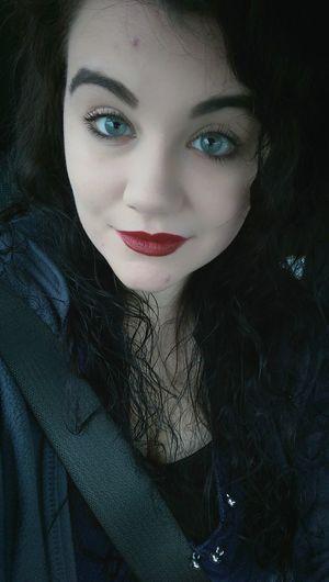 Vampy That's Me Me Myself And I Mobilephotography That's Me Eyebrows On Fleek Nyxlipstick  Nyxcosmetics