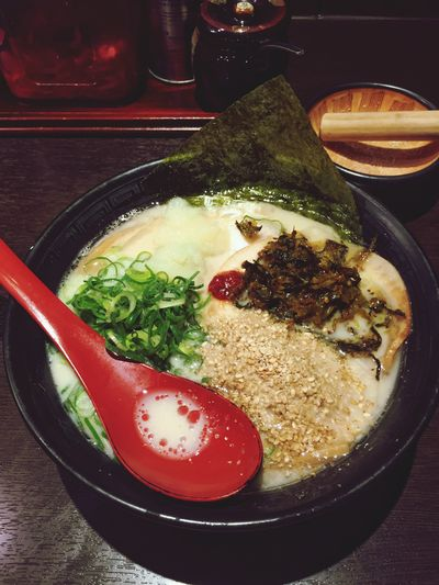 My World Of Food Tonkotsu Ramen Japanese Food Shot On IPhone 6