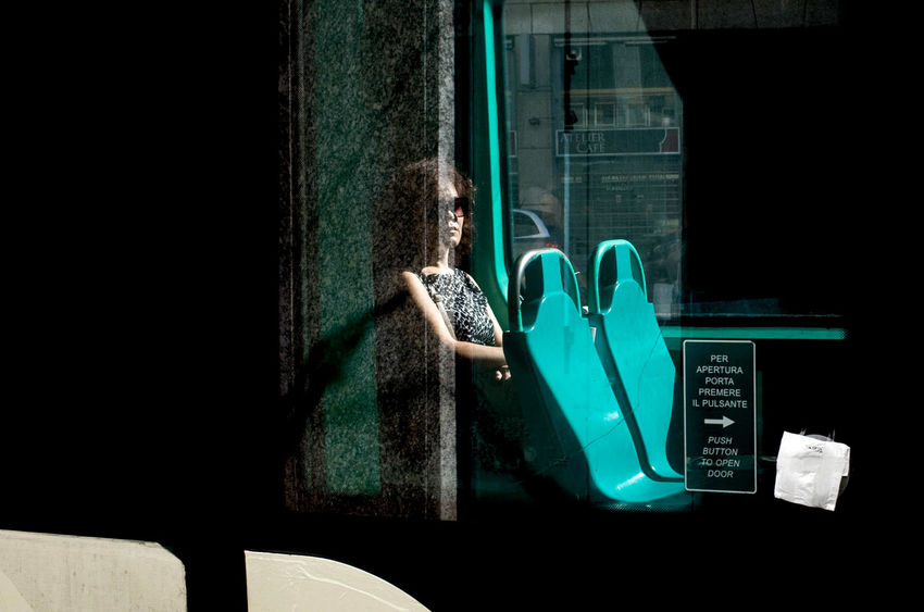 Milan TheWeekOnEyeEM UNPOSED Fotogenik Collective One Person Real People Street Street Photography Streetphotography Transparent Women