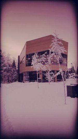 building . snow Building . Snow