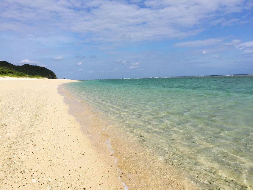 Amami Island Kagoshima Japan Winter Beach Sea Horizon Over Water Sky Beauty In Nature Sand Nature Cloud - Sky No People Day Water Scenics Shore Tranquility Tranquil Scene Outdoors