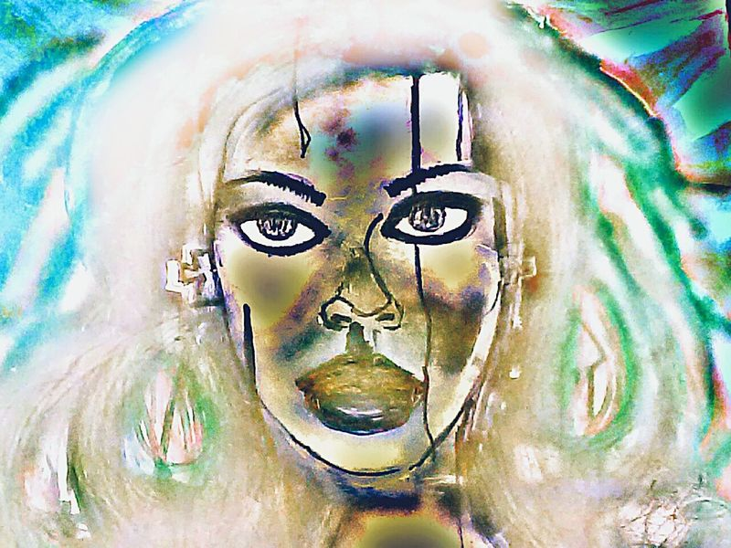 Picture Of A Painting Digitally Enhanced Digitally Modified Digitally Altered Painting Painting Artwork Digital Manipulation Effects & Filters Edited Photography Effects And Filters Digital Manipulations Painting Of Woman Painting Portrait Womans Portrait Paintedface Painted Face Girl Painted Face Painted Face Lady Bigeyes Big Eyes Color Portrait Face Paint Facepainting Face Painting Woman Portrait The Portraitist - 2018 EyeEm Awards