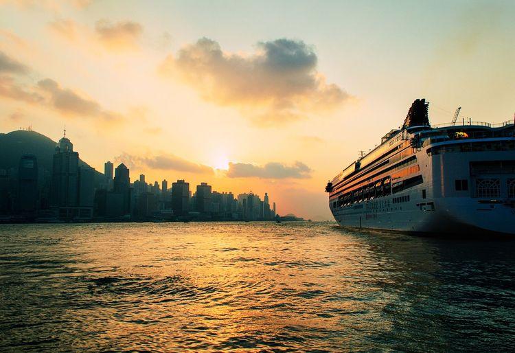 Travel Honk Kong Chinise Boatlife
