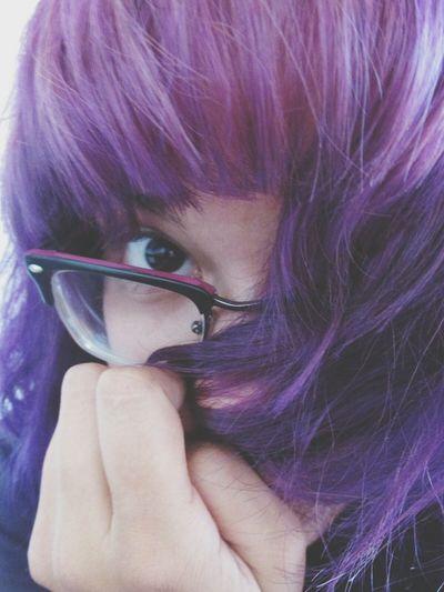 Purple Purple Hair Purple ♥ Purplehairdontcare Purplepositivity