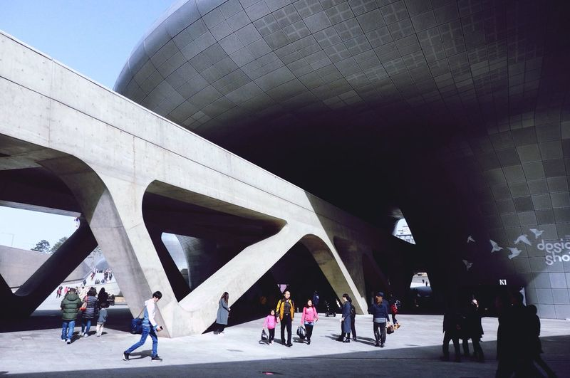 DDP Seoul Seoul, Korea Dongdaemun Design Plaza First Eyeem Photo