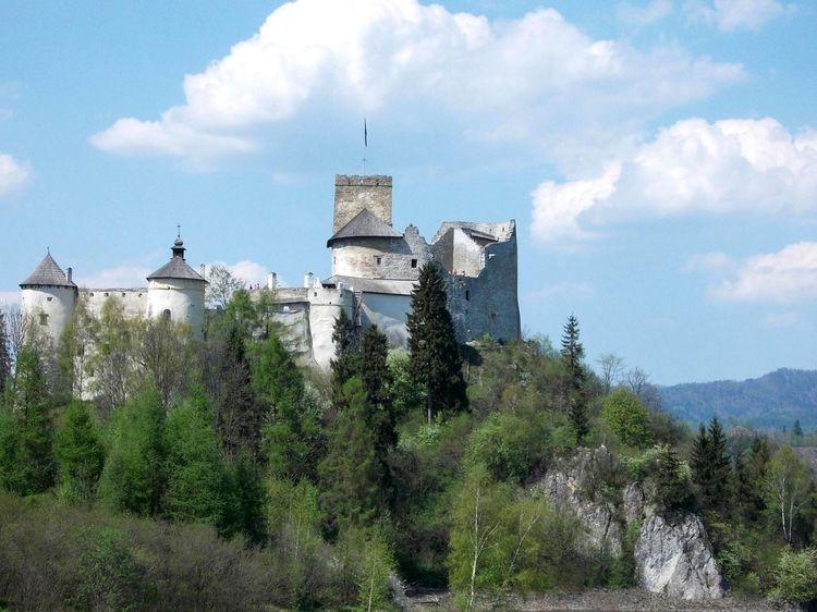 Architecture Built Structure Castle Mountain Nidzica Sky