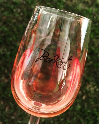 Focus On Foreground Glass No People Pattern Rose Wine Rosé Sunlight Wine
