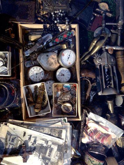 Flea Markets Old Stuff Ouvre Bouteille Clock Old Photo OpenEdit EyeEm Best Shots EyeEm Gallery Super Retro