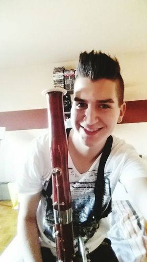 Enjoying Life der Mann mit dem Fagott 😇 That's Me