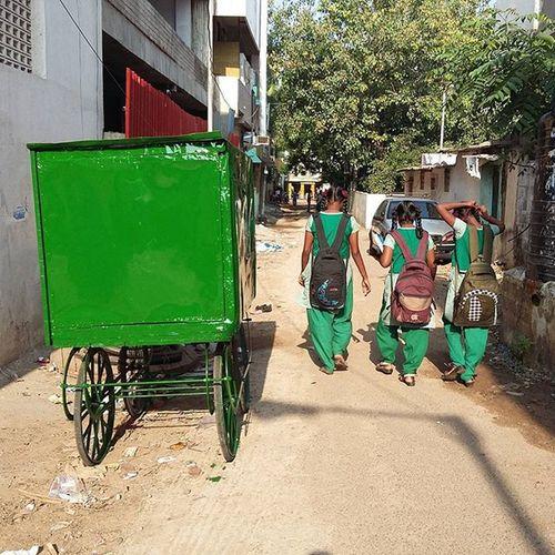 Insta India - Going Green Newlypainted Instaindia Besantnagar