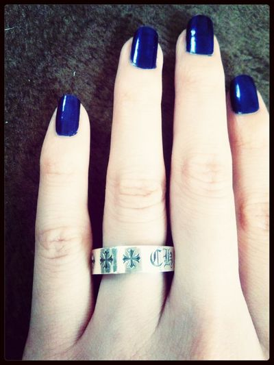 Chrome Hearts Nail Ring ペアリング。