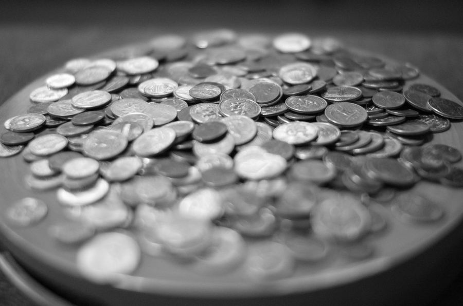 Change Close-up Coin Currency Finance Money Savings Wealth